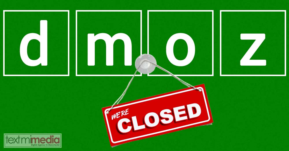 dmoz directory closing
